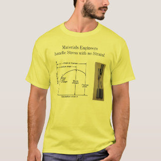Materials Engineers handle Stress with no Strain T-Shirt