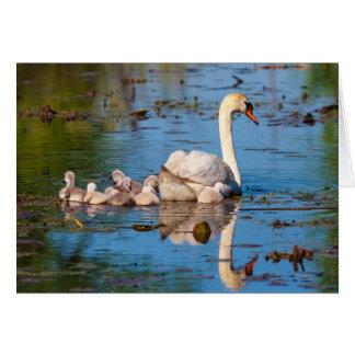 Maternal Reflection Greeting Card