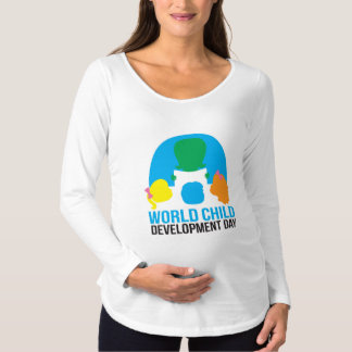Maternity long sleeve tee shirt