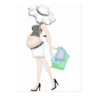 Maternity - Mommy - Great Gift Baby Shower Post Cards