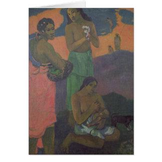 Maternity, or Three Women on the Seashore, 1899 Card