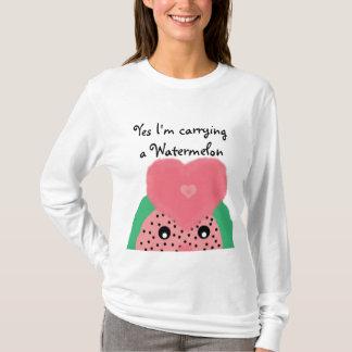 Maternity - Watermelon T-Shirt