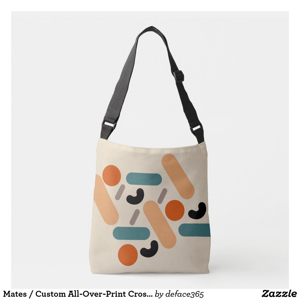 Mates / Custom All-Over-Print Cross Body Bag