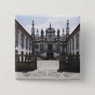 Mateus Palace 15 Cm Square Badge
