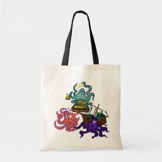 Matey s Pirate s Loot Tote Sack Bag Costume octopi