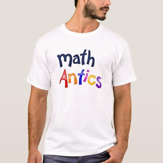 Math Antics Colourful Logo T-shirts