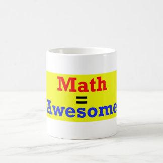 Math = Awesome Mug