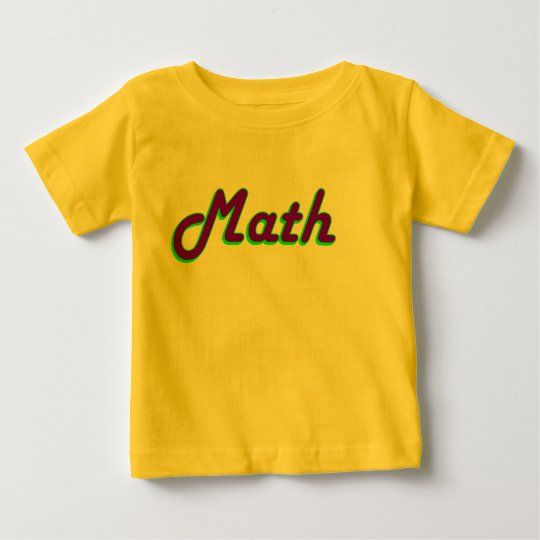 Math Baby Baby T-Shirt