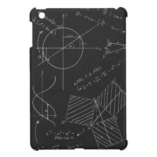 Math blackboard iPad mini cover