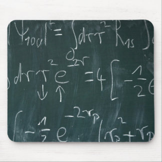 Math Blackboard Mousepads