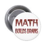 Math Builds Brains Button