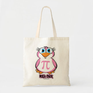 Math Chick Budget Tote Bag