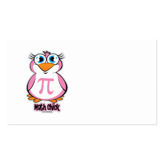 Math Chick Pack Of Standard Business Cards