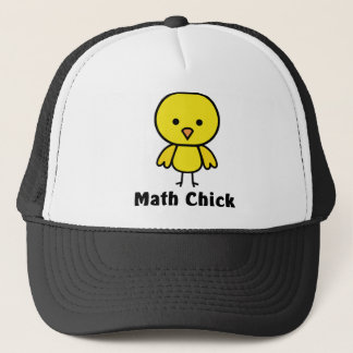 Math Chick Trucker Hat