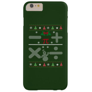 Math Christmas Barely There iPhone 6 Plus Case