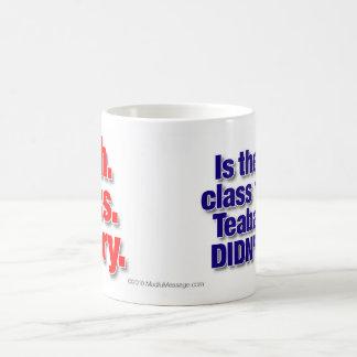 """Math. Civics. History"" coffee mug"
