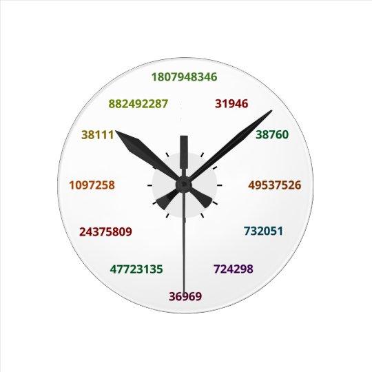 Math Clock in base 36