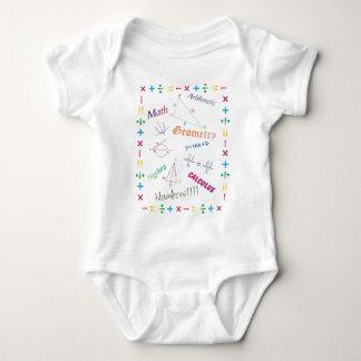 Math Design Baby Bodysuit