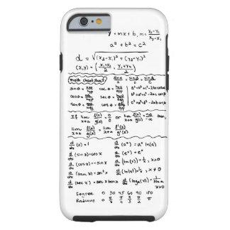 Math Equations Cheat Sheet iPhone 6 case