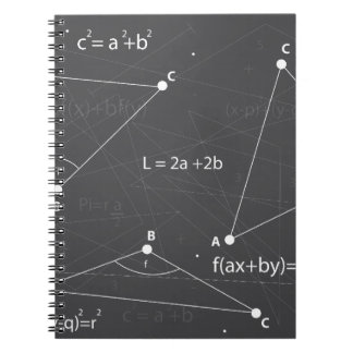 Math Equations Notebook