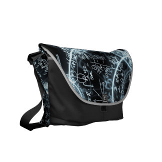 math equations rickshaw bag commuter bag
