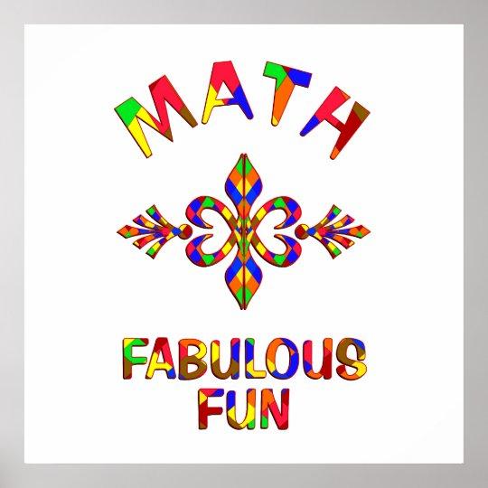Math Fabulous Fun Poster