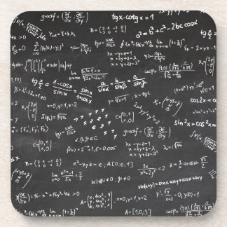 Math Formulas And Numbers Coasters