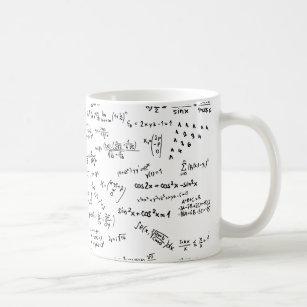 Math Formulas And Numbers Coffee Mug