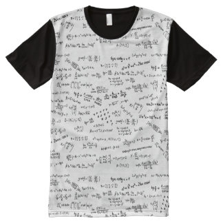 Math Formulas And Numbers All-Over Print T-Shirt
