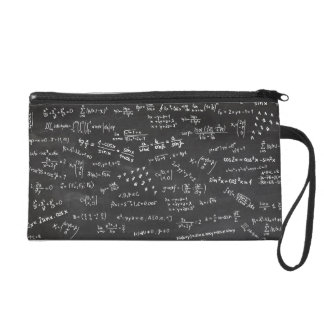 Math Formulas And Numbers Wristlet