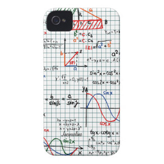 Math Formulas Numbers iPhone 4 Case-Mate Cases