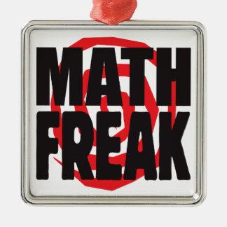 Math Freak Christmas Ornament