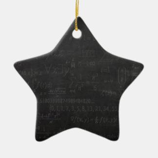 Math Geek Christmas Ornament