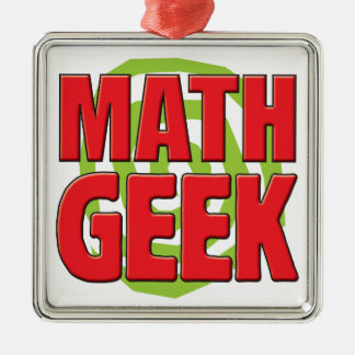 Math Geek Christmas Tree Ornaments