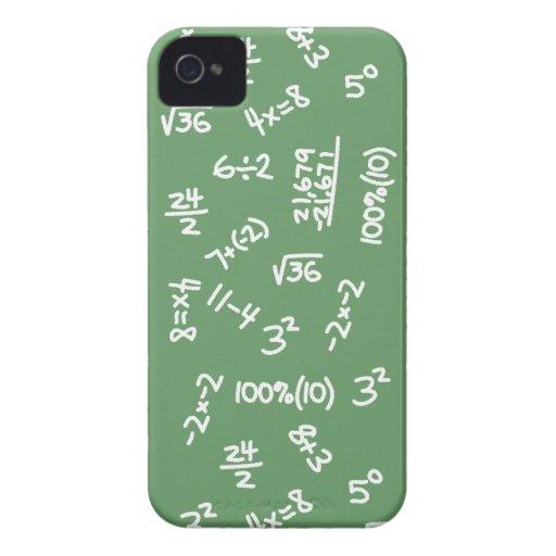 Math Geek Fun Mathematical Equations iphone 4 Case