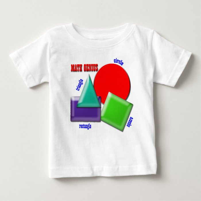 Math Genius Baby T-Shirt