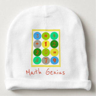 Math Genius Toddler Beanie Baby Beanie