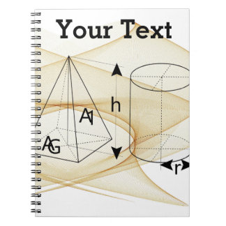 Math, Geometry Style Notebook
