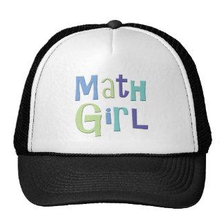 Math Girl Cap