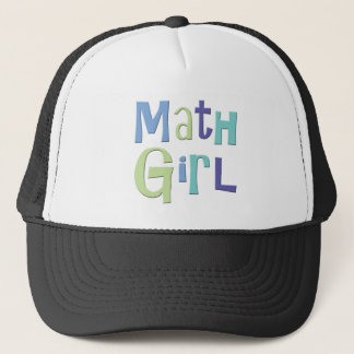 Math Girl Trucker Hat