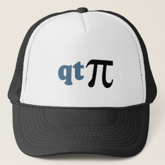 Math Humor - Cute Tee Pi Trucker Hat