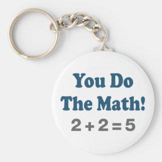 Math Humor Keychain