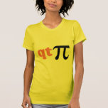 Math Humour - Cute Tee Pi