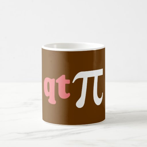Math Humour - Cute Tee Pi Mug