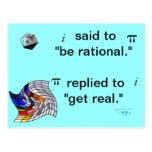 Math humour Postcard