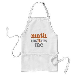 Math InPIres Me Standard Apron