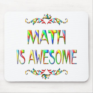 Math is Awesome Mouse Pad
