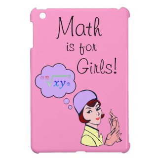 Math is for Girls Mini Ipad Case