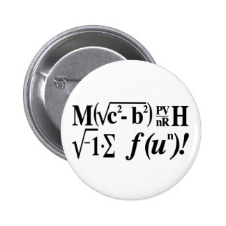 Math is Fun! 6 Cm Round Badge