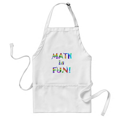 Math is Fun Apron